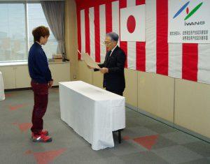 長野県知事表彰 樋口大地さん