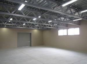 こちらも広くなった1F倉庫