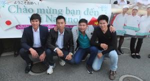 ベトナム人実習生入社
